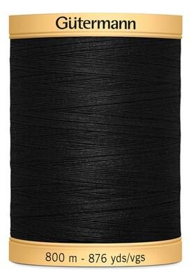 Gutermann Natural Cotton Thread 800m - 5201