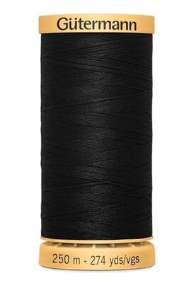Gutermann Natural Cotton Thread 250m - 5201