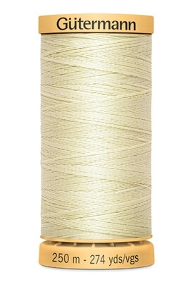 Gutermann Natural Cotton Thread 250m - 0919