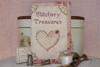 Faeries in My Garden - Stitchery Treasures Embroidery Pouch Pattern