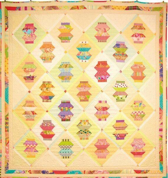 Trish Harper Designs Lantern Light Quilt Pattern