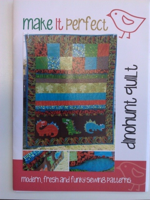 Make It Perfect - Dinohunt Quilt