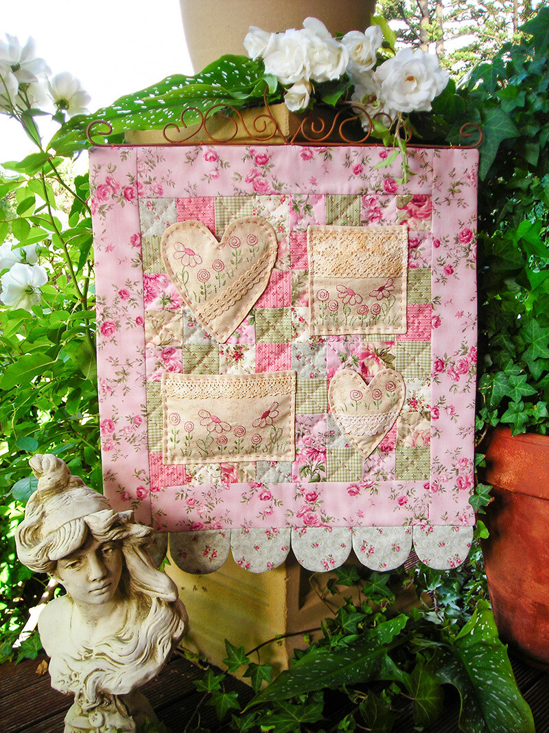 The Rivendale Collection - Sweet Nothings Wall Hanging
