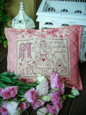 The Rivendale Collection - Bright & Beautiful Cushion