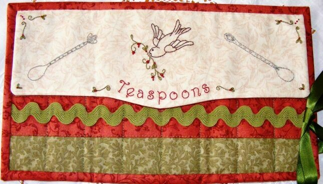 Petals & Patches - Teatime Memories Teaspoon Pocket