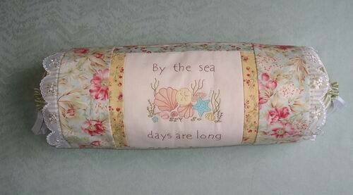 Petals & Patches - Seaside Moments Bolster Cushion