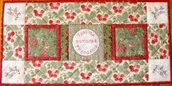 Petals & Patches Teatime Memories Table Runner