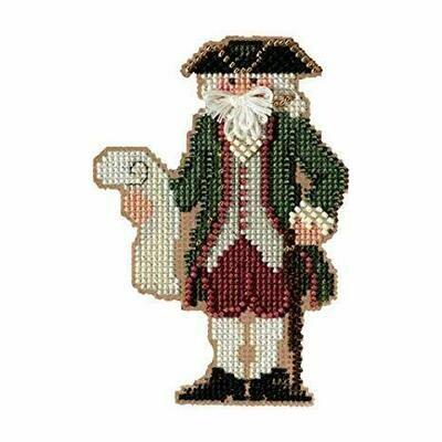 Mill Hill Colonial Santas - Williansburg Santa (MH20-3301)
