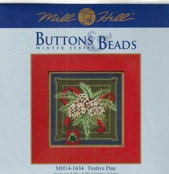 Mill Hill Buttons & Beads Winter Series - Festive Pine (MH14-1634)