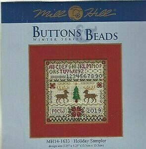 Mill Hill Buttons & Beads Winter Series - Holiday Sampler (MH14-1633)