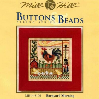 Mill Hill Buttons & Beads Spring Series - Barnyard Morning (MH14-8106)