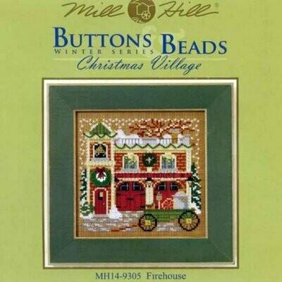 Mill Hill Buttons & Beads Winter Series - Firehouse (MH14-9305)