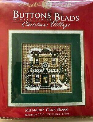 Mill Hill Buttons & Beads Winter Series - Clock Shoppe (MH14-0302)