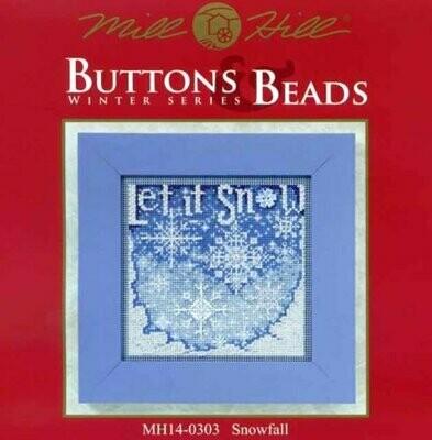 Mill Hill Buttons & Beads Winter Series - Snowfall (MH14-0303)