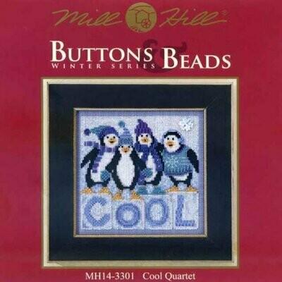 Mill Hill Buttons & Beads Winter Series - Cool Quartet (MH14-3301)