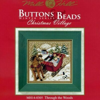 Mill Hill Buttons & Beads Winter Series - Through The Woods (MH14-0305)