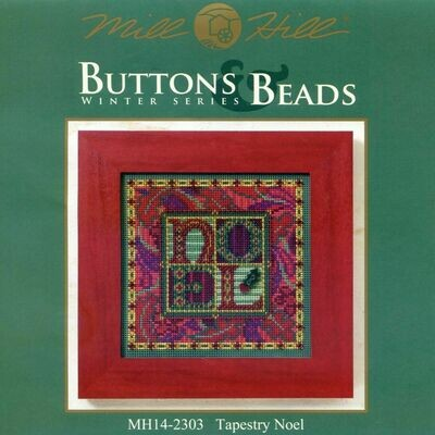 Mill Hill Buttons & Beads Winter Series - Tapestry Noel (MH14-2303)