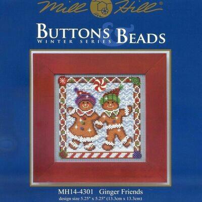 Mill Hill Buttons & Beads Winter Series - Ginger Friends (MH14-4301)