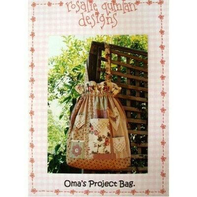 Rosalie Quinlan Designs - Oma's Project Bag