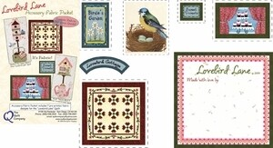 Lovebird Lane Accessory Fabric Packet