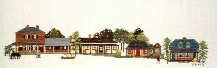 Juniper Designs Early Australian Collection Colonial Cottages - Windsor