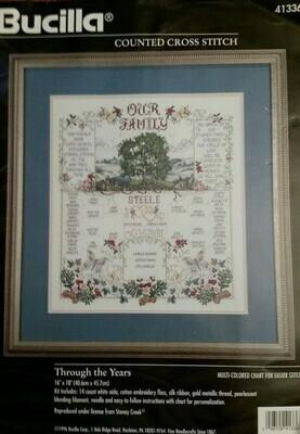 Bucilla - Through The Years (41336)