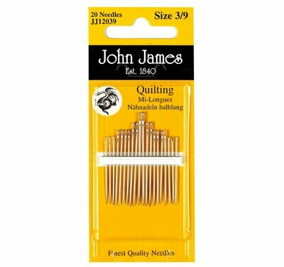 John James Quilting #05/10 pkt (JJ12050)