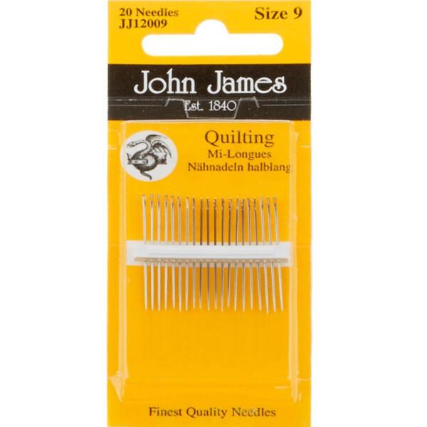 John James Quilting #12 pkt (JJ12012)