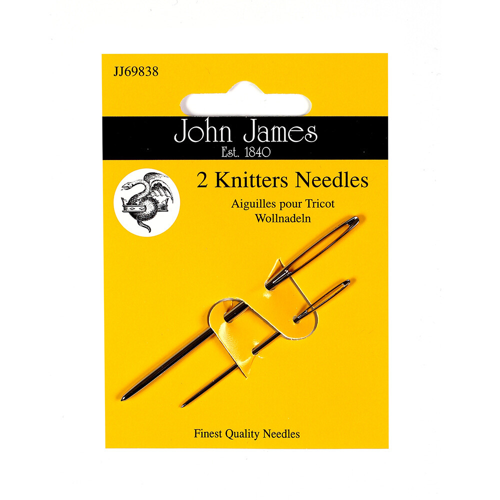 John James Knitters #13/18 pkt (JJ69838)