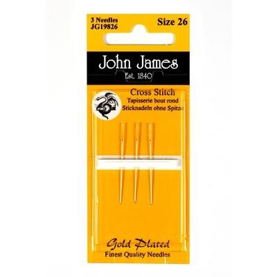 John James Tapestry Gold #26 pkt (JG19826)