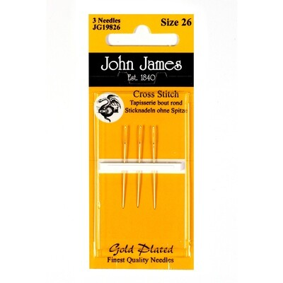 John James Tapestry Gold #28 pkt (JG19828)
