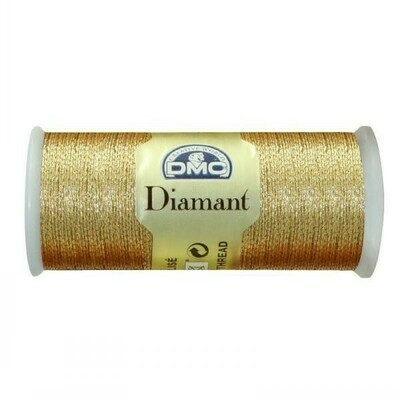 DMC380 Diamant Metallic Thread D3821 - Light Gold