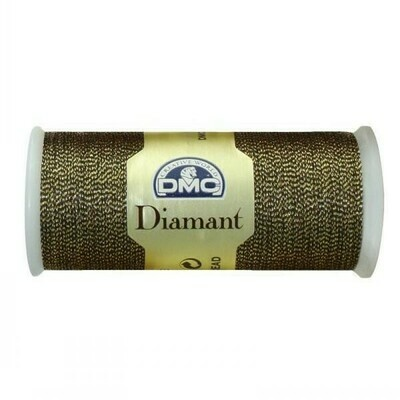 DMC380 Diamant Metallic Thread D0140 - Olive