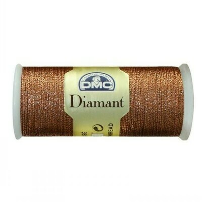 DMC380 Diamant Metallic Thread D0301 - Copper