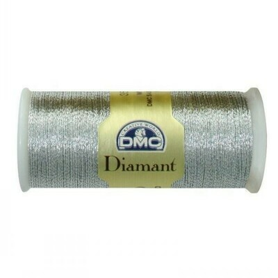 DMC380 Diamant Metallic Thread D0415 - Silver