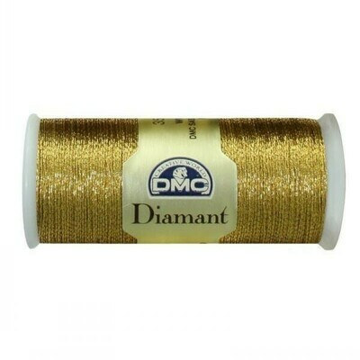 DMC380 Diamant Metallic Thread D3852 - Old Gold