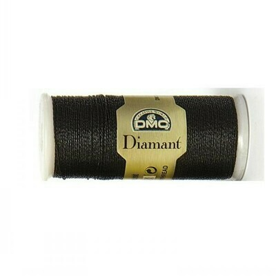 DMC380 Diamant Metallic Thread D0310 - Ebony