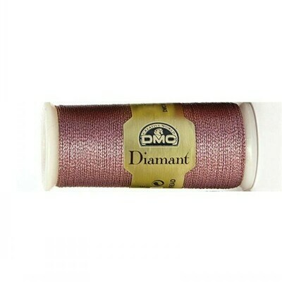 DMC380 Diamant Metallic Thread D0316 - Pink Amethyst
