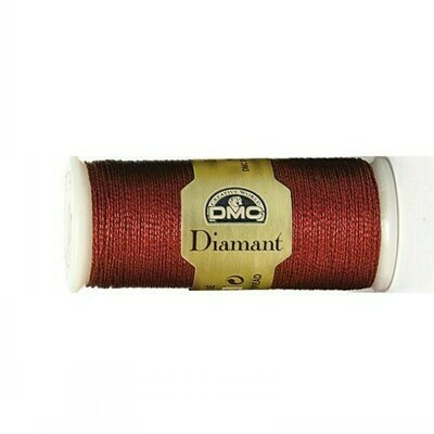 DMC380 Diamant Metallic Thread D0321 - Red Ruby