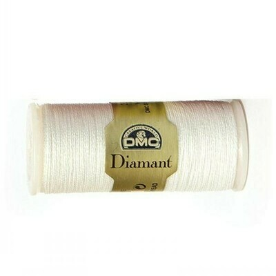 DMC380 Diamant Metallic Thread D5200 - White