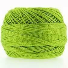 DMC116 Perle 08 Ball 0907 - Light Parrot Green