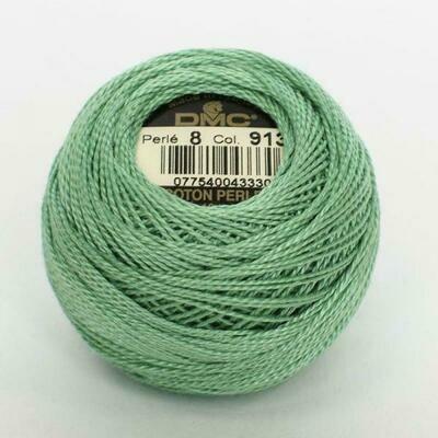 DMC116 Perle 08 Ball 0913 - Medium Nile Green