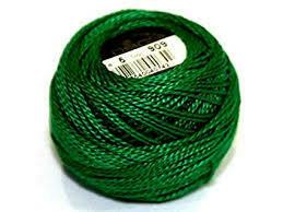 DMC116 Perle 08 Ball 0909 - Very Dark Emerald Green