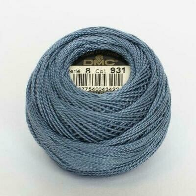 DMC116 Perle 08 Ball 0931 - Medium Antique Blue