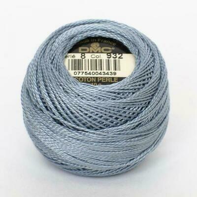DMC116 Perle 08 Ball 0932 - Light Antique Blue