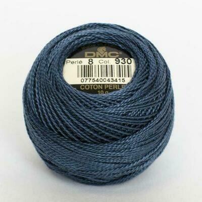 DMC116 Perle 08 Ball 0930 - Dark Antique Blue