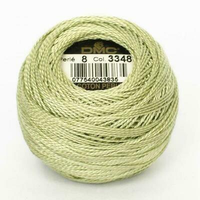 DMC116 Perle 08 Ball 3348 - Light Yellow Green