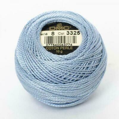 DMC116 Perle 08 Ball 3325 - Light Baby Blue
