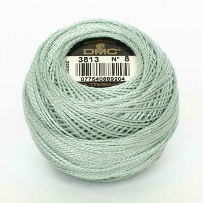 DMC116 Perle 08 Ball 3813 - Very Light Blue Green