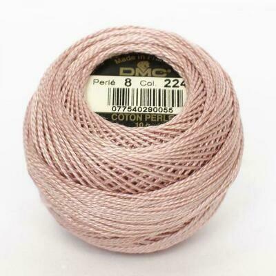 DMC116 Perle 12 Ball 0224 - Very Light Shell Pink